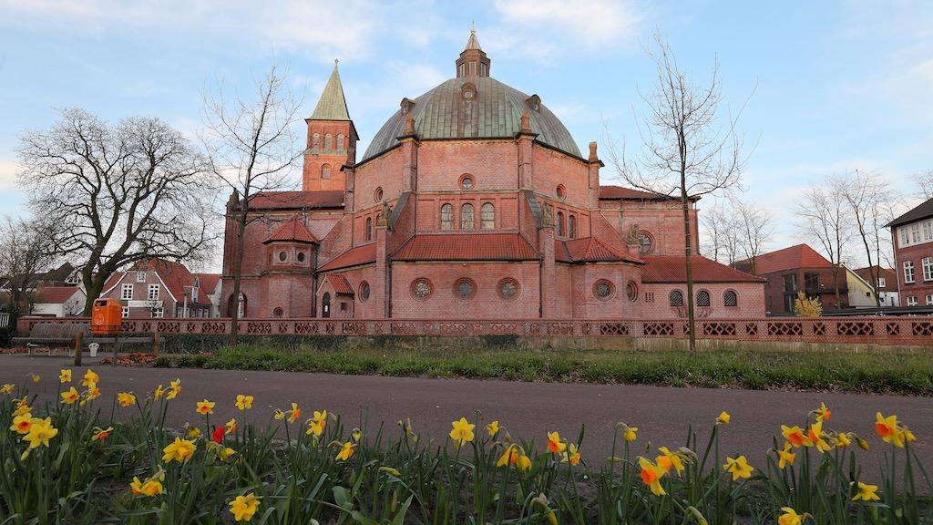 St. Augustinus Kirche in Nordhorn fotografieren