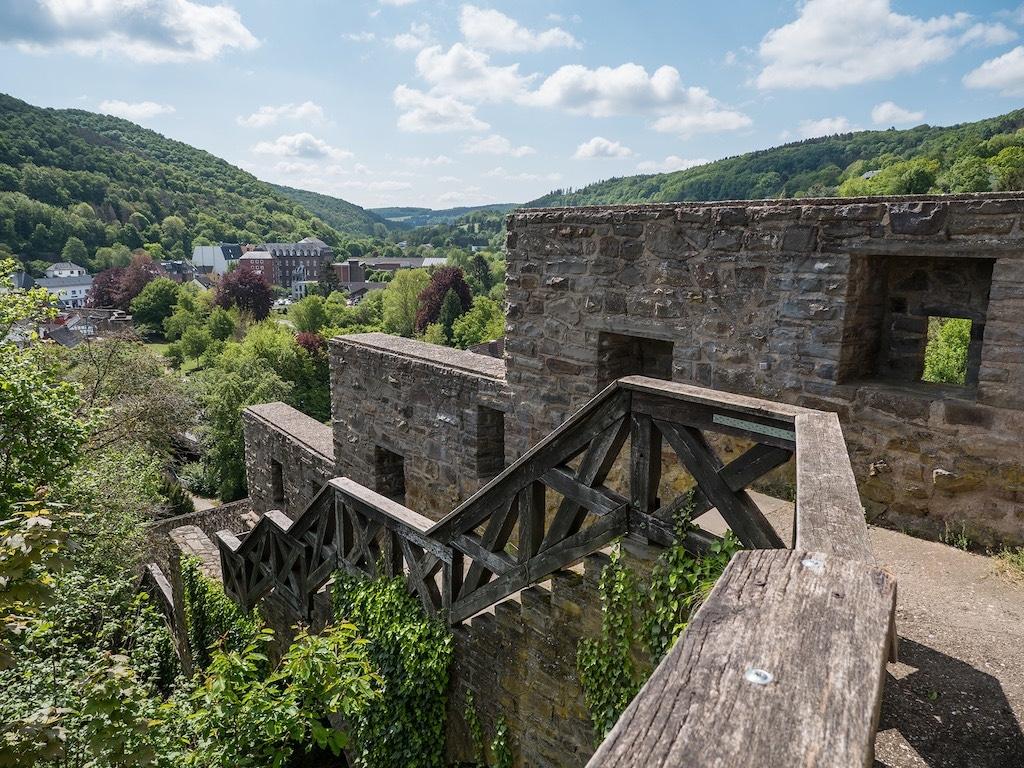 Die Stadtmauer in Bad Münstereifel fotografieren