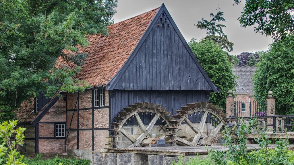 Wassermühle fotografieren