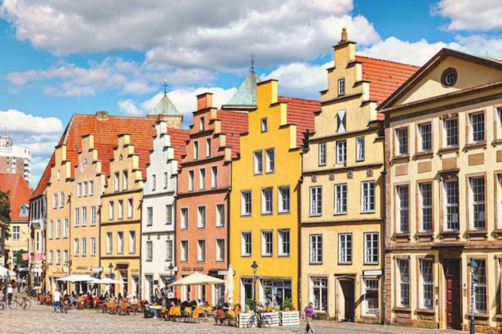 Giebelhäuser am Markt in Osnabrück