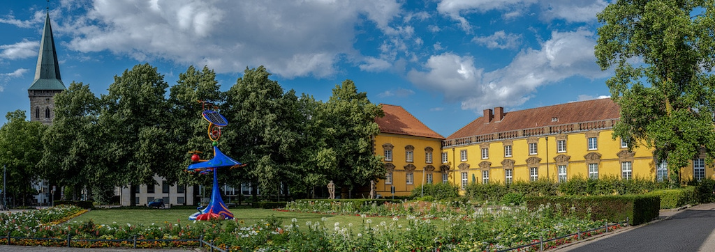 Katharinenkirche und Schloss in Osnabrück