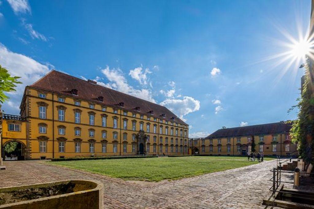 Osnabrücker Schloss - Innenhof