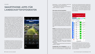 Blick ins Buch: Landschaftsfotografie: Die große Fotoschule