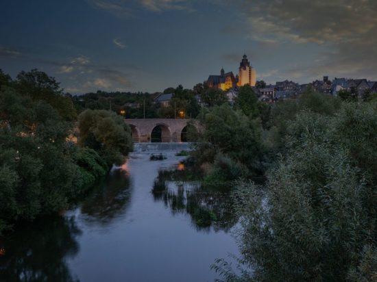 Altstadt Wetzlar HDR Lahnbrücke