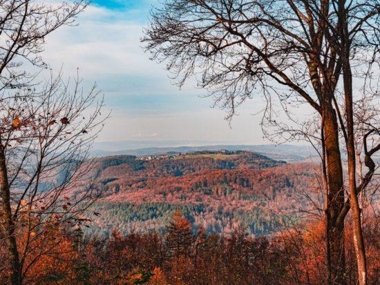Blick vom Dünsberg in Wetzlar