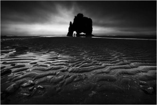 Island Landschaftsaufnahme