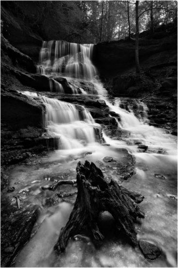 Wasserfall Landschaftsaufnahme
