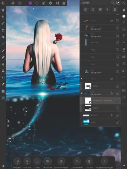 Bildbearbeitung mit Affinity