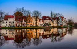 Obertrave in Lübeck fotografiert von Jörg Murawski