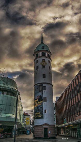 Weißer Turm in Darmstadt