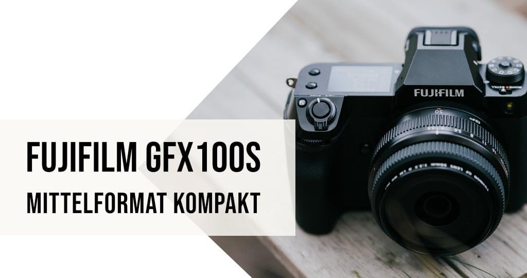 Fujifilm Neuheit GFX100S