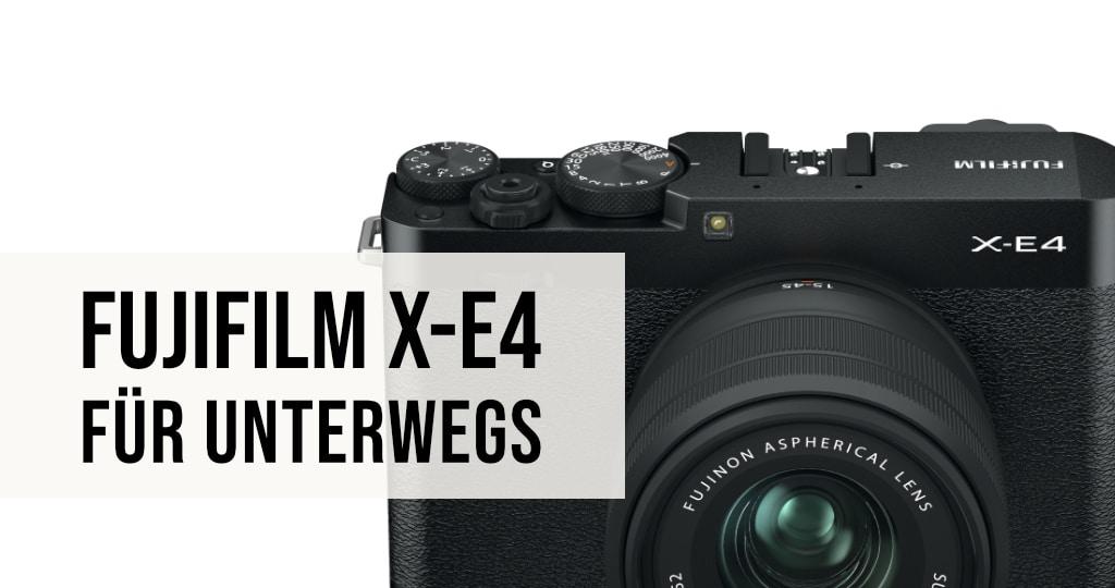 Fujifilm X-E4 Kamera
