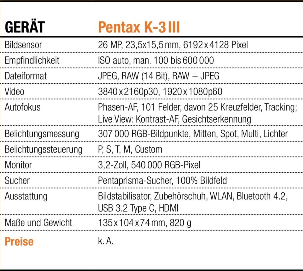 Info-Tabelle_Pentax K-3 III