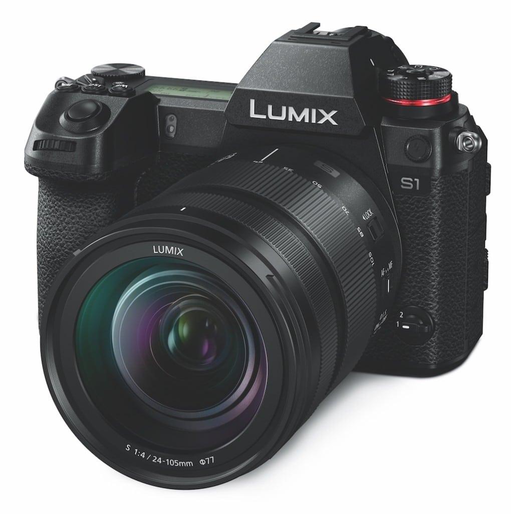 Die Panasonic Lumix s1me Kamera