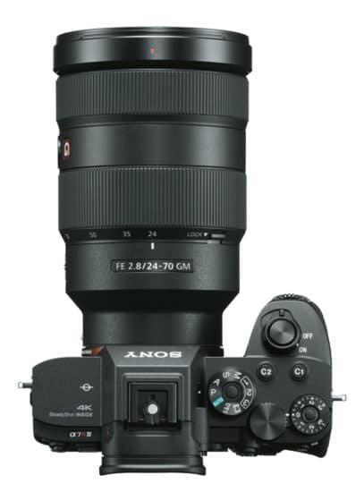 Sony Kamera mit Objektiv