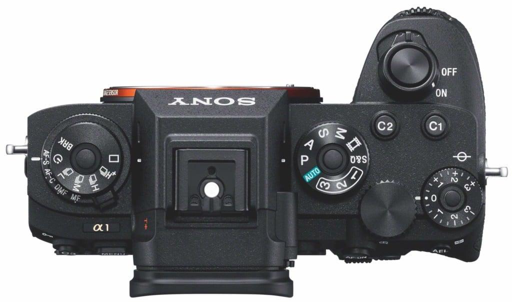 Ansicht der Sony Alpha 1