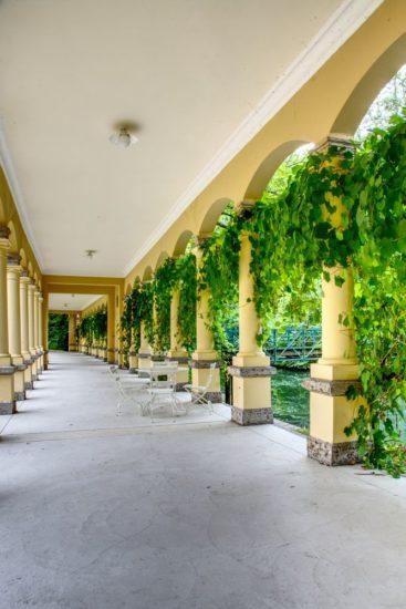 Arkadenhalle in Rothenburg ob der Tauber