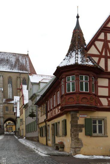 Feuerleinserker in Rothenburg ob der Tauber