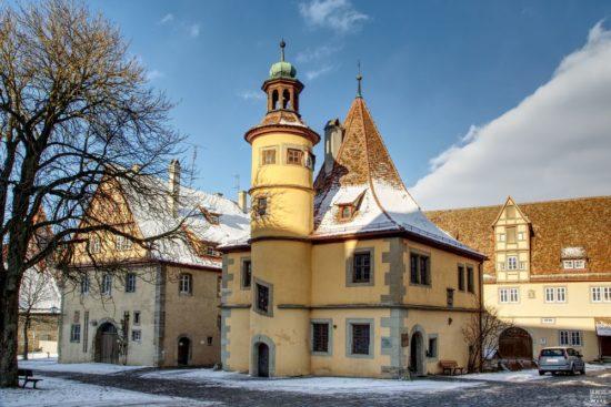 Hegereiterhaus in Rothenburg ob der Tauber