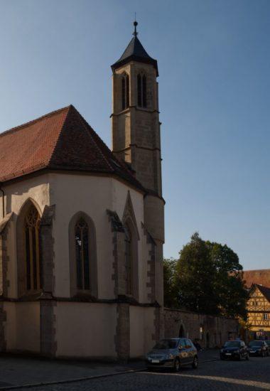 Heilig-Geist-Kirche in Rothenburg ob der Tauber