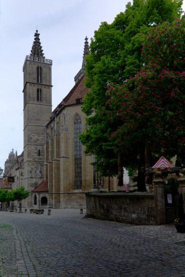 Jakobskirche in Rothenburg ob der Tauber