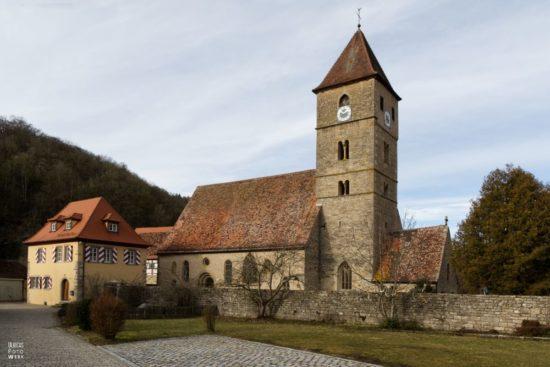 Kirche Sankt Peter und Paul Detwang in Rothenburg ob der Tauber