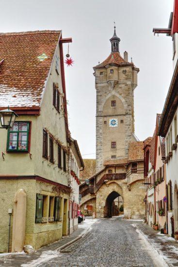 Klingentor von Ulrich Krauß in Rothenburg ob der Tauber