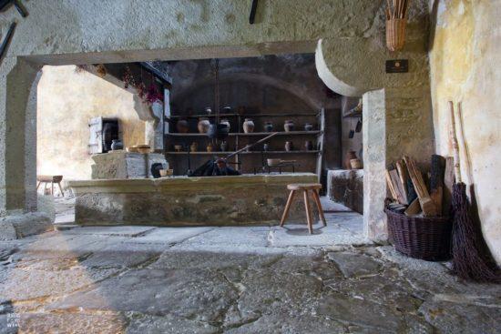 Klosterküche in Rothenburg ob der Tauber