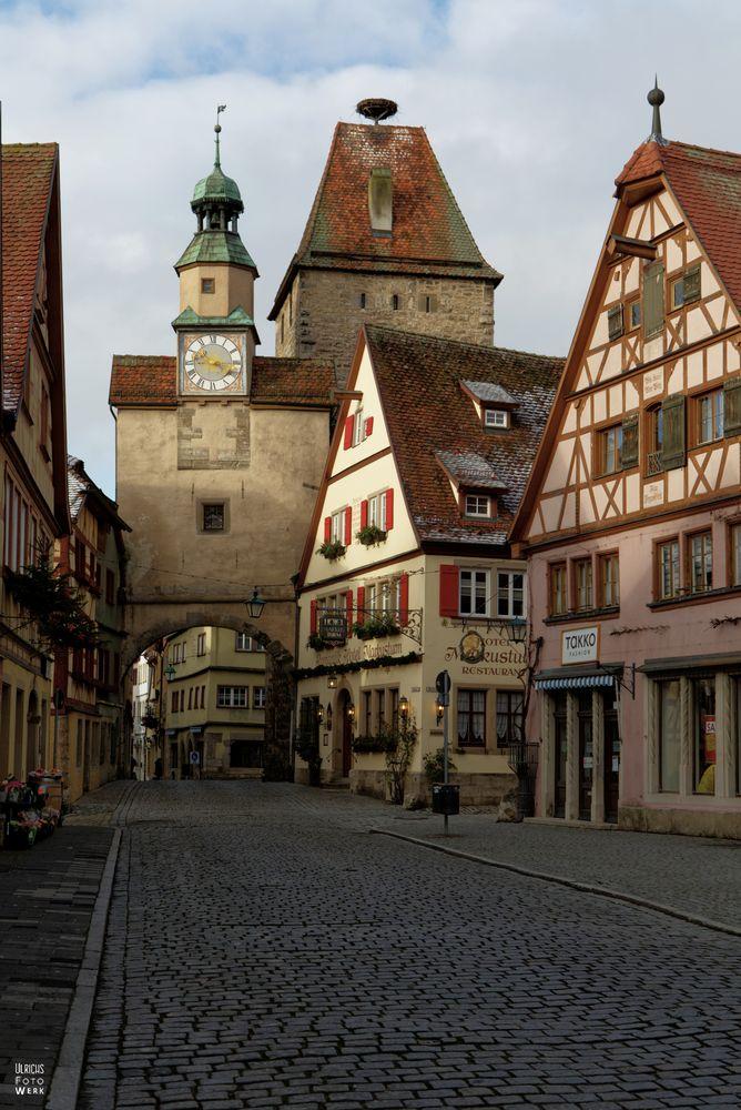 Röderbogen in Rothenburg