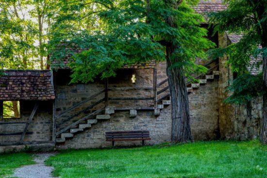 Ruhepol in Rothenburg ob der Tauber