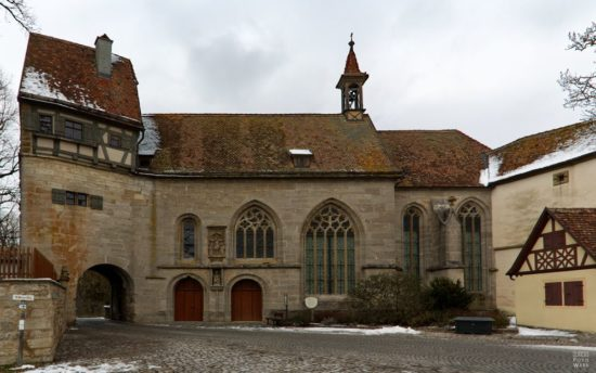 Sankt-Wolfgangs-Kirche in Rothenburg ob der Tauber