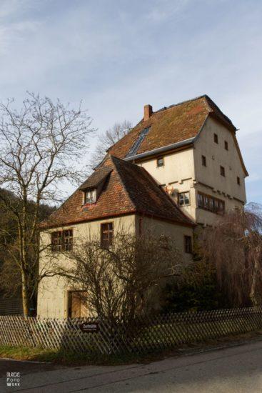 Schloss in Detwang in Rothenburg ob der Tauber
