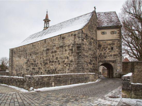 Wehrkirche Sankt Wolfgang in Rothenburg ob der Tauber