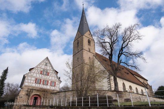 Alexanderkirche in Marbach