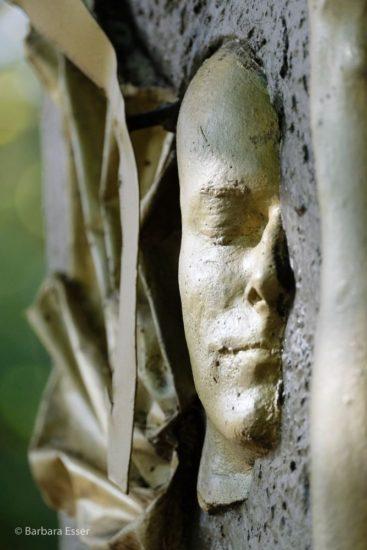 Merkur-Skulptur am Planetenweg bei Ludwigsburg in Marbach