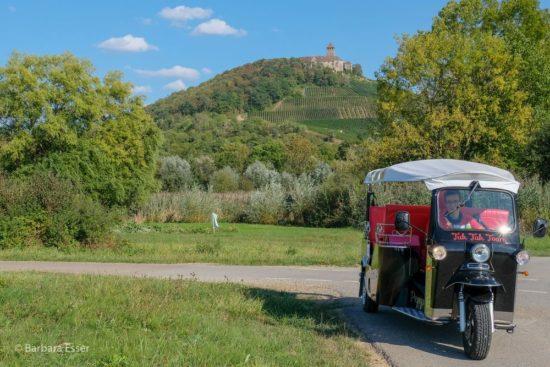 Bottwartalradweg mit Tuk-Tuk-Tours in Marbach
