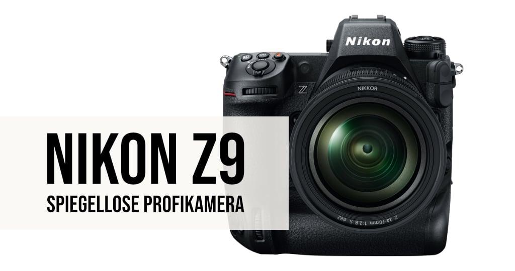 Nikon Z9 Spiegellose Profikamera