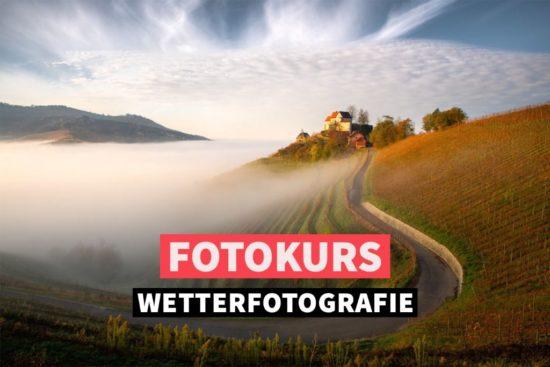 Online-Fotokurs: Wetterfotografie
