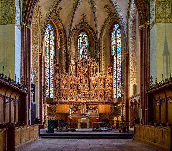 der Brüggemann-Altar in Schleswig