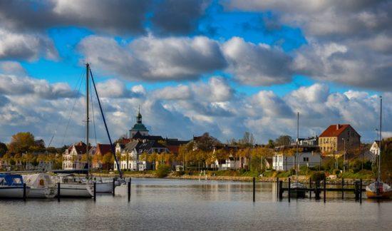 Schleipromenade in Schleswig