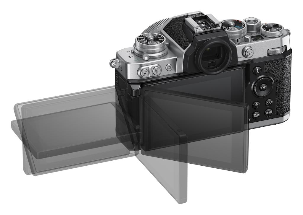 Bewegliches Touch Display der Nikon Z fc