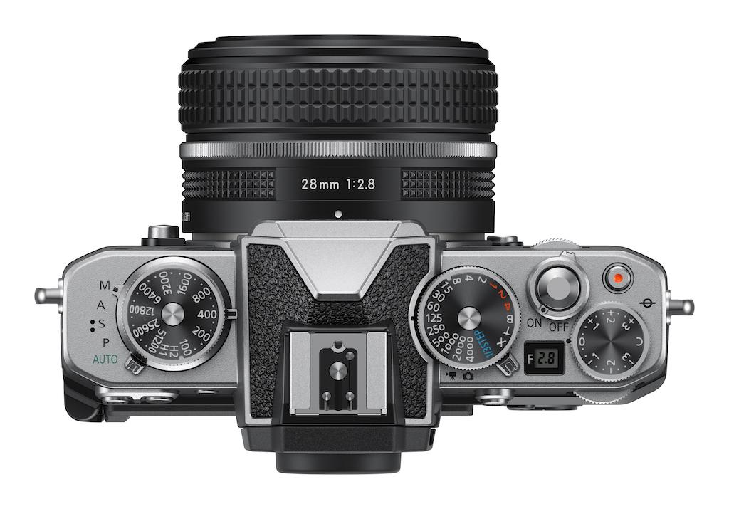 Das neue Gehäuse der Nikon Z fc