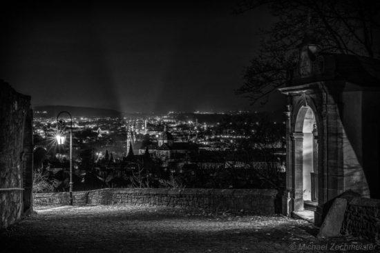 Frauenberg @ Night SW von Michael Zechmeister