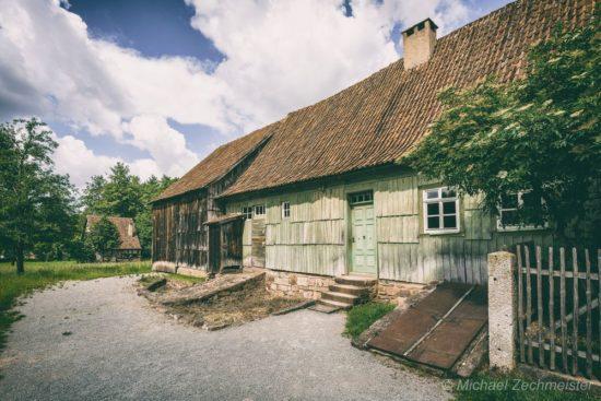 Hofanlage im Freilichtmuseum Fladungen