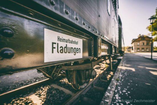 HeimatBahnhof Fladungen von Michael Zechmeister