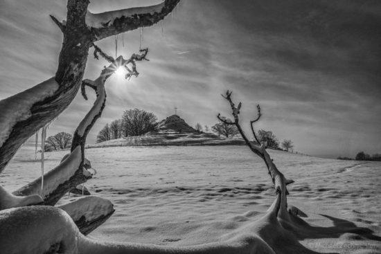 Wachtküppel fotografieren in der Rhön
