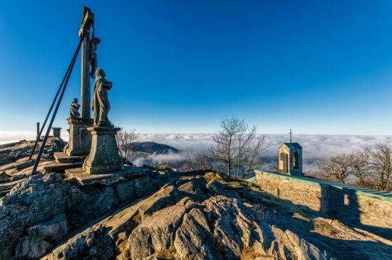 Milseburg - Gipfel in der Rhön fotografieren