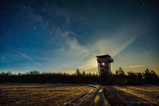 The Tower @ Night von Michael Zechmeister
