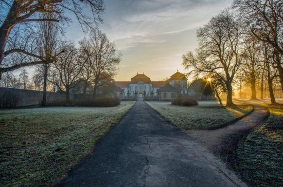 Das Schloss Fasanerie in der Rhön fotografieren
