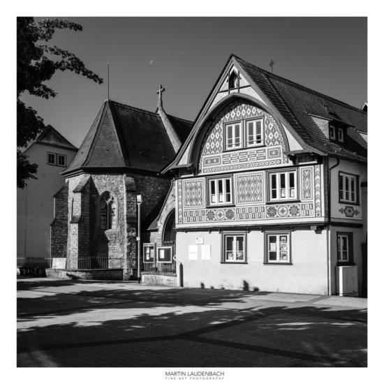 Fachwerkskunst und Hospitalkirche in Bensheim
